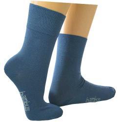 Bambus Socken blau 43-46