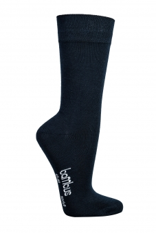 Bambus Socken schwarz 43-46