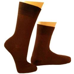 Business-Socken dunkelbraun 12.5-13 (44-46)