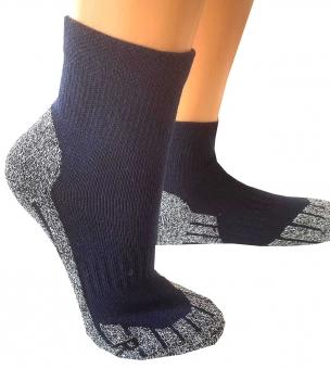 Coolmax®-Trekking-Socken Kurzform 35-38 marine